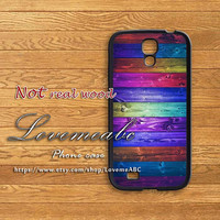 colorful wood,samsung galaxy S4 mini case,samsung galaxy 3 case,note 2 case,samsung s4 active,S3 mini case,samsung galaxy S4 case,S3 case,