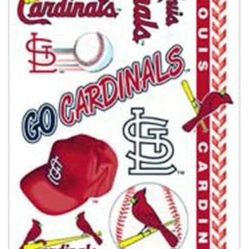 St. Louis Cardinals Temporary Tattoos