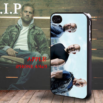 Fast & Furious 5 Paul Walker Brian O'Conner iphone 4 4S case iphone 5 Case