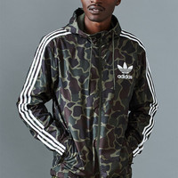 adidas Camouflage Windbreaker Jacket at PacSun.com