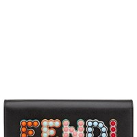 Fendi Fun Fair Leather Wallet on a Chain | Nordstrom