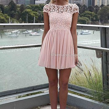 PRE ORDER - SPLENDED ANGEL DRESS (Expected Delivery 9th April, 2014) , DRESSES, TOPS, BOTTOMS, JACKETS & JUMPERS, ACCESSORIES, 50% OFF SALE, PRE ORDER, NEW ARRIVALS, PLAYSUIT, COLOUR, GIFT VOUCHER,,Pink,LACE,SHORT SLEEVE,MINI Australia, Queensland, Brisban