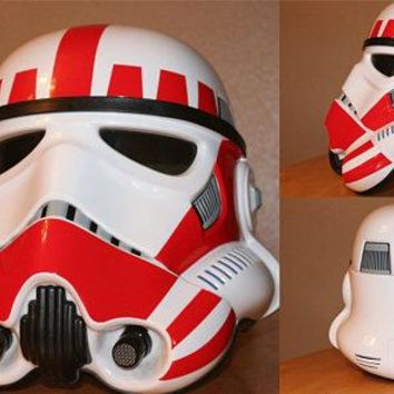 Stormtrooper Shock Trooper Clean Decal Kit for Black Series Helmets