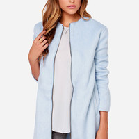 BB Dakota Liezel Sky Blue Coat