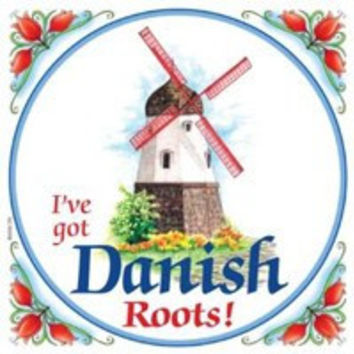 Kitchen Wall Plaques: Danish Roots