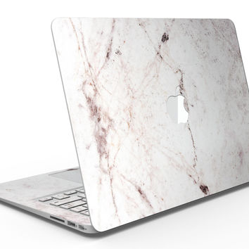 Pale Pink Marble Surface - MacBook Air Skin Kit