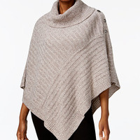 Karen Scott Poncho Sweater, Created for Macy's | macys.com