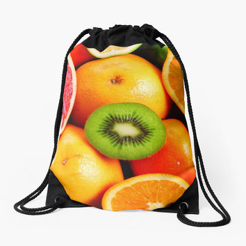 Colorful Citrus Fruits by shabzdesigns