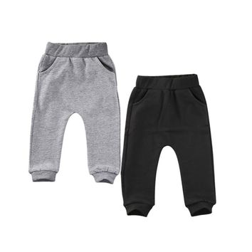 Canis 0-24M Cute Cat Baby Boys Girls Pants Cotton Warm Casual Trousers Harem Pants Bottoms PP Cartoon Warm Clothes 0-24M SS