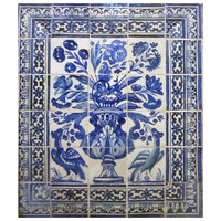 Late 17th Century Portuguese Azulejos Panel