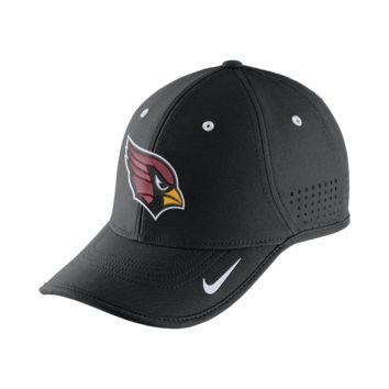 Nike True Vapor (NFL Cardinals) Adjustable Hat (Black)