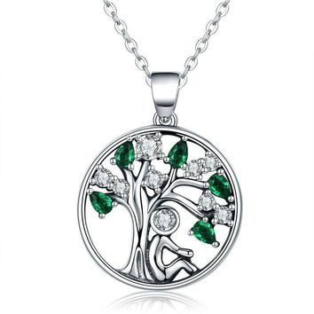 Sterling Silver Rely Tree of Life Pendant Necklaces