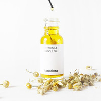 Chamomile Cuticle Oil / Camomile Cuticle Oil / Organic / 100% Natural / Nails Care / 15ml