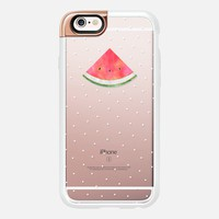 Pretty Watermelon - Transparent iPhone 6s case by Elisabeth Fredriksson | Casetify