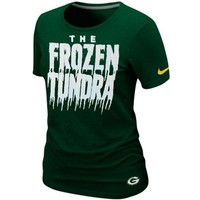 Nike Green Bay Packers Ladies Local Premium T-Shirt - Green