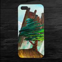 Tree Painting iPhone 4 and 5 Case