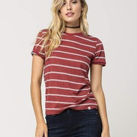VOLCOM Down To Ride Womens Tee | Knit Tops + Tees