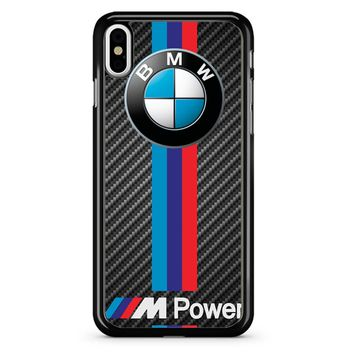 M Power Bmw Logo iPhone X Case