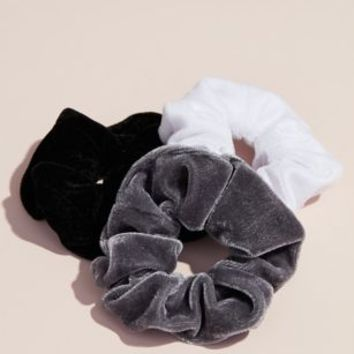 Velvet Scrunchies Set | David's Bridal