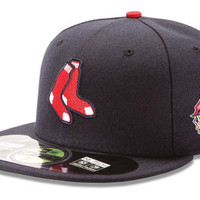 Boston Red Sox 2013 MLB AC World Series Patch 59FIFTY Cap