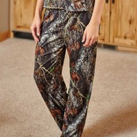 Wilderness Dreams Women's Camo Lounge Pants - Mossy Oak - 604121