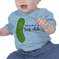 Kind of a Big Deal Dill Pickle T-shirt from Zazzle.com