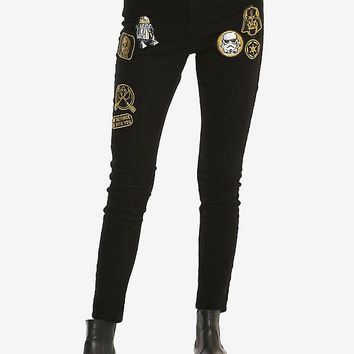 Star Wars Patch Skinny Jeans
