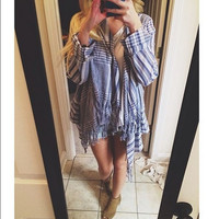 Follow & Fringe Top