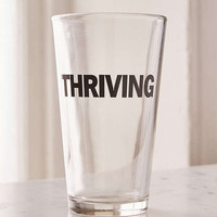 Thriving Pint Glass | Urban Outfitters