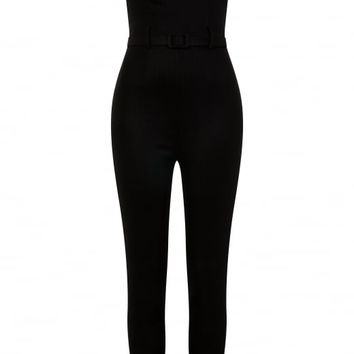 COLLECTIF MAINLINE MONICA FOILED JUMPSUIT