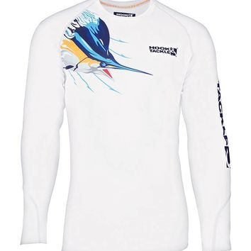 Men's Blue Thunder Vented L/S UV Fishing Shirt