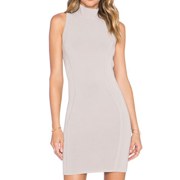 Parker Amy Dress in Pebble