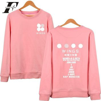 KPOP BTS Bangtan Boys Army 2017 Korean   album jin suga, rap monster V  Hoodies Sweatshirts men women  Boys Sweatshirt survetement femme AT_89_10