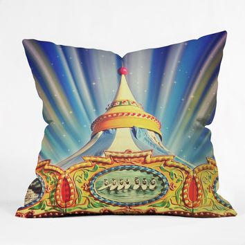 Shannon Clark Carnival Cosmic Throw Pillow