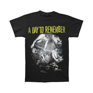 A Day To Remember Men's  Bring The Noise T-shirt Black Rockabilia