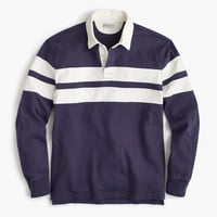 Rugby shirt in double stripe