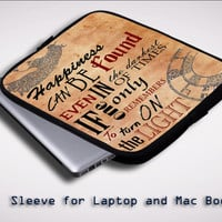dumbledore quotes Z1687 Sleeve for Laptop, Macbook Pro, Macbook Air (Twin Sides)