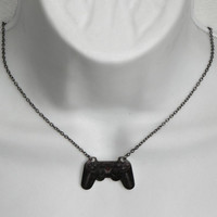 GIRL GAMER Playstation Video Games Controller Necklace by PlayBox