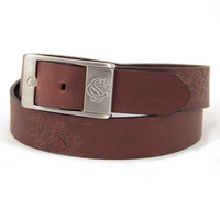 South Carolina Gamecocks NCAA Men's Embossed Leather Belt (Size 40)