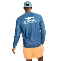 OCEARCH Long Sleeve Performance T-Shirt in True Navy by Southern Tide