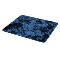 Dark blue abstraction, marble mossaic on black cutting board