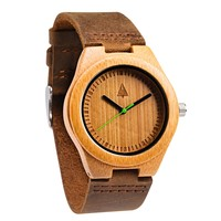 Wooden Watch // Boyd Small Green