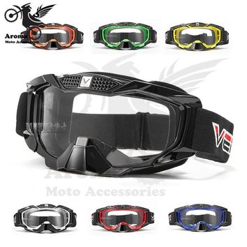 clear lens ski eye glasses protection outdoor sport racing motorcycle goggle for KTM dirt pit bike goggles motocross accessories