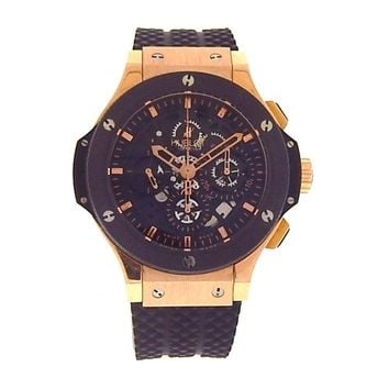 Hublot Big Bang Aero Bang Skeleton 18k Rose Gold Automatic Watch 310.PM.1180.RX