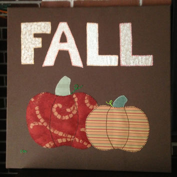 Fall #1 Fabric Wall Art