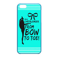 Cheerleader Bow To Toe Aztec Pattern iPhone 5C case