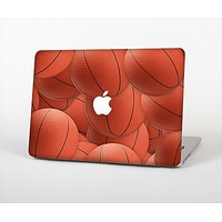The Basketball Overlay Skin Set for the Apple MacBook Pro 15""