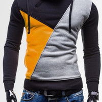 Hooded Multicolor Long Sleeve Hoodie