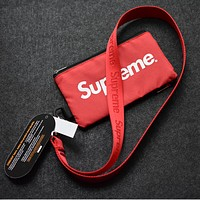Supreme portable cell phone pocket wallet card bag pouch