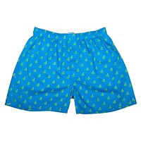 Frog Boxers - Blue